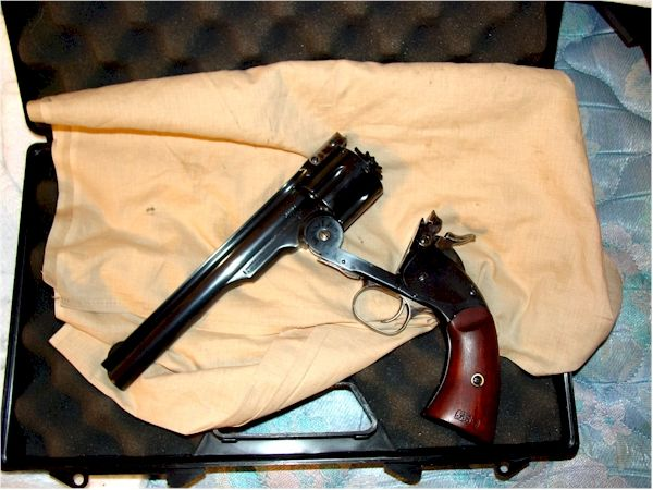 New Baby 2 Armi SanMarco repro S&W Model 3, First Model, open Keywords: Schofield revolver reproduction S&W